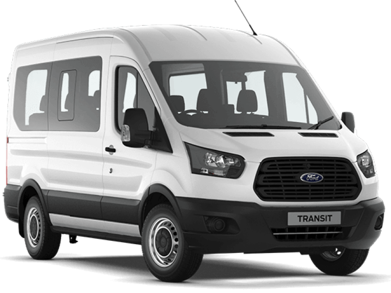Ford Transit 17 Seater Car Hire Deals